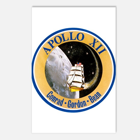 Apollo 12 Postcards (Package of 8)