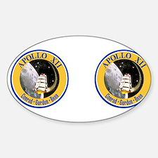 Apollo 12 Sticker (Oval)