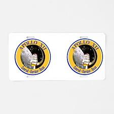 Apollo 12 Aluminum License Plate