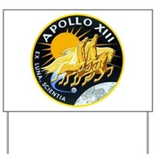 Apollo 13 Yard Sign