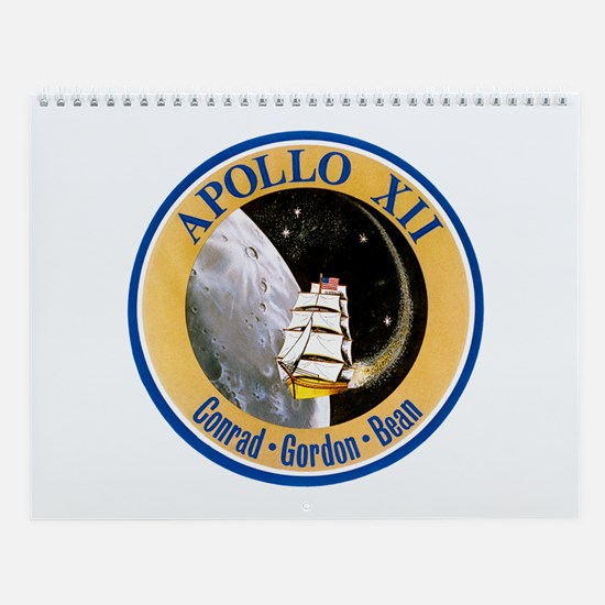 Apollo 12 Wall Calendar