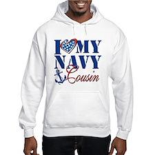 I Love My Navy Cousin Hoodie