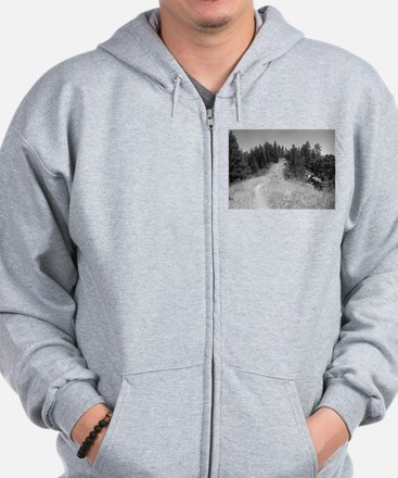 mountain bike shirt Zip Hoodie