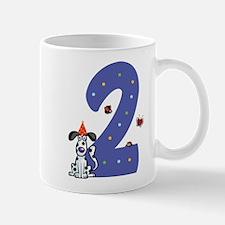 Second Birthday Dog Mug