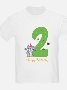 Second Birthday Bunny T-Shirt