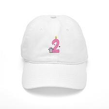 Second Birthday Bunny Baseball Cap