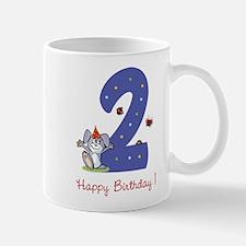 Second Birthday Bunny Mug
