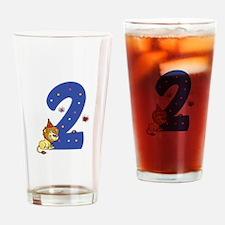 Second Birthday Leon Drinking Glass
