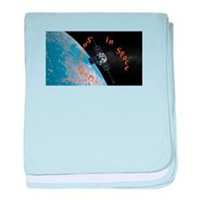 Sunisthefuture-Solar Panels in Space baby blanket