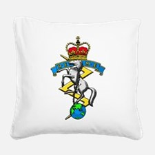REME badge Square Canvas Pillow