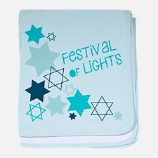 Festival Of Lights baby blanket