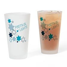 Festival Of Lights Drinking Glass