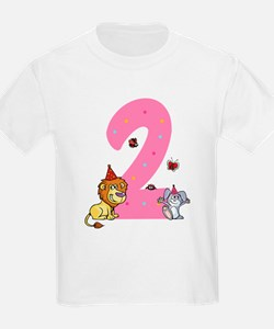 Second Birthday Leon and Bunny T-Shirt