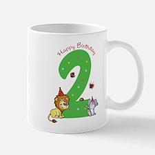 Second Birthday Leon and Bunny Mug