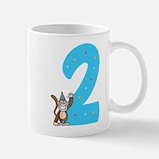 Second Birthday Monkey Mug