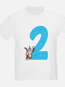 Second Birthday Monkey T-Shirt