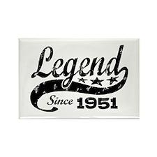 Legend Since 1951 Rectangle Magnet