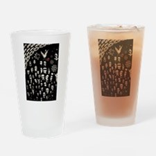 face to face Drinking Glass