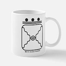 WHITE Cosmic MIRROR Mug
