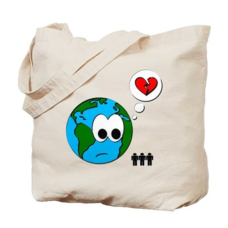 Earth Bag Tote Bag