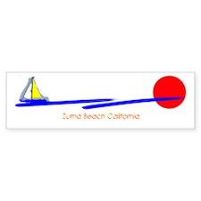 Zuma Beach California Bumper Bumper Sticker