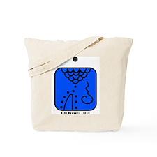 BLUE Magnetic STORM Tote Bag