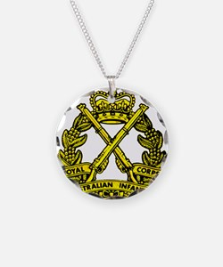 RA Inf badge Necklace