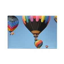 Hot Air Balloon Rectangle Magnet
