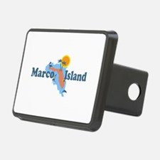 Marco Island - Map Design. Hitch Cover