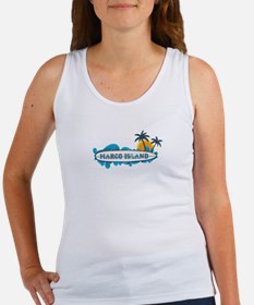 Marco Island - Surf Design. Women's Tank Top