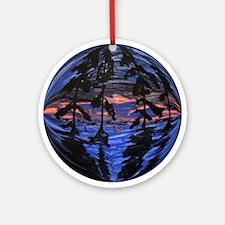 Cajun Christmas Ornament (Round)