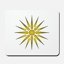 Macedonia Vergina Star Mousepad