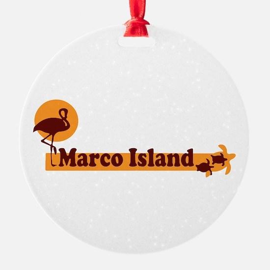 Marco Island - Beach Design. Ornament
