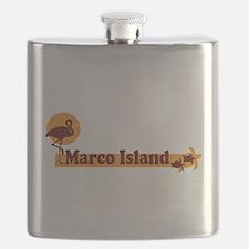 Marco Island - Beach Design. Flask