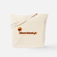 Marco Island - Beach Design. Tote Bag