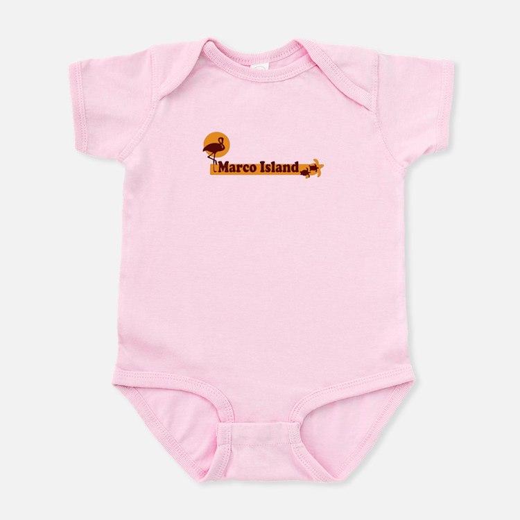 Marco Island - Beach Design. Infant Bodysuit