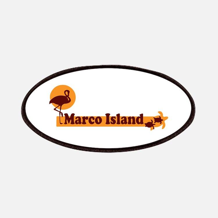 Marco Island - Beach Design. Patches