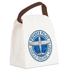 Aviation Private Pilot Canvas Lunch Bag