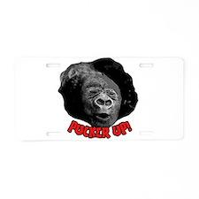 Pucker Up! Aluminum License Plate