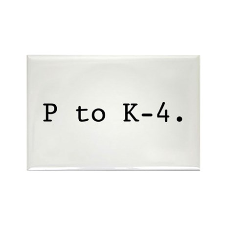 Twin Peaks P to K-4. Rectangle Magnet (10 pack)