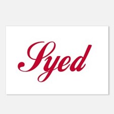 Syed Postcards (Package of 8)