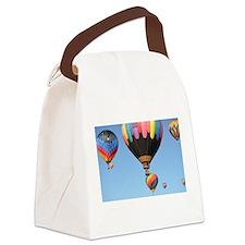 Hot Air Balloon Canvas Lunch Bag