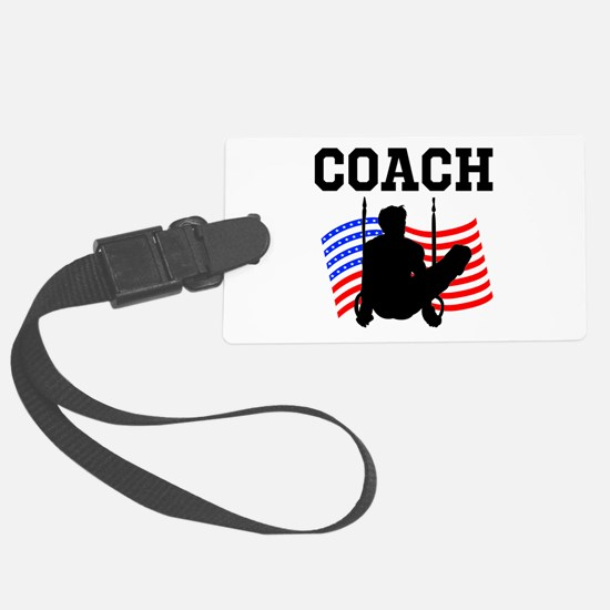 TOP GYMNAST COACH Luggage Tag