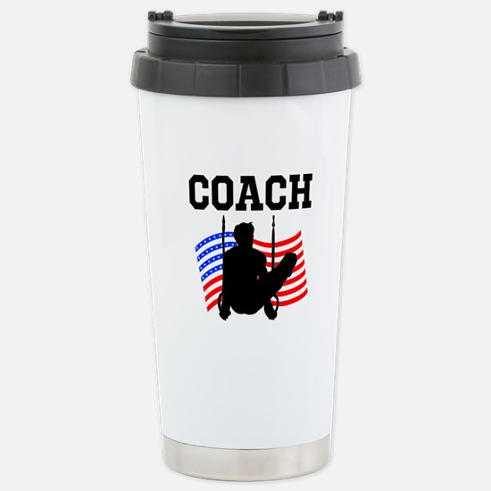 TOP GYMNAST COACH Stainless Steel Travel Mug