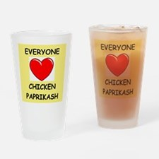 PAPRIKASH Drinking Glass