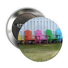 """Beach / Adirondack Chairs 2.25"""" Button"""