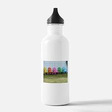 Beach / Adirondack Chairs Water Bottle