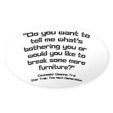 Troi Quote Break Furniture Decal