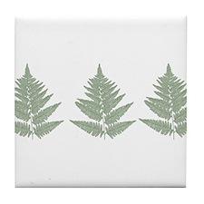 Ferns Tile Coaster