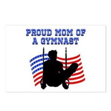 PROUD GYMNAST MOM Postcards (Package of 8)
